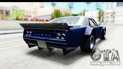GTA 5 Declasse Tampa Drift for GTA San Andreas left view