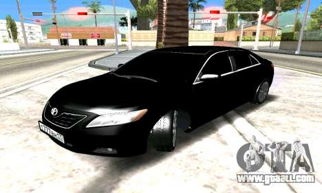 Toyota Camry for GTA San Andreas inner view