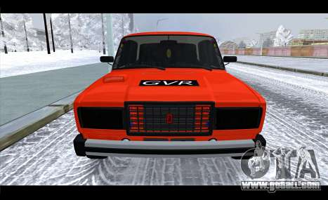 VAZ 2105 patch v3 for GTA San Andreas right view