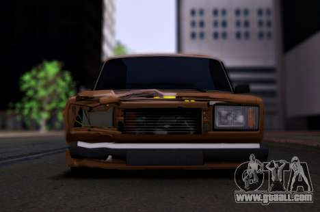 VAZ 2107 Hobo for GTA San Andreas right view