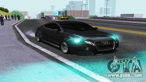 AUDI A7 SPORTSBACK for GTA San Andreas