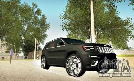 Jeep Cherokee SRT 8 for GTA San Andreas