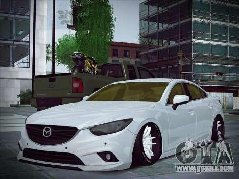Mazda 6 Stance for GTA San Andreas