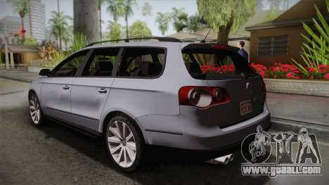 Volkswagen Passat B6 Variant for GTA San Andreas left view