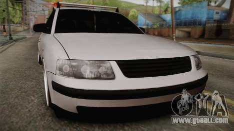 Volkswagen Passat 2.0 TDI for GTA San Andreas back left view