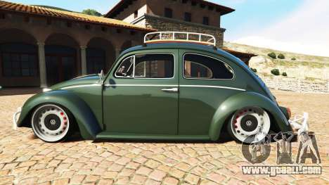GTA 5 Volkswagen Fusca 1968 v1.0 [replace] left side view