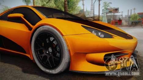 HTT Plethore LC750 2012 for GTA San Andreas back view