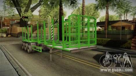 MAZ 99864 Trailer v2 for GTA San Andreas