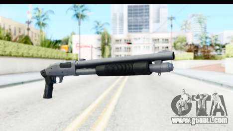 Tactical Mossberg 590A1 Chrome v3 for GTA San Andreas second screenshot