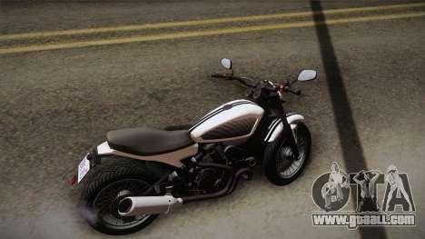 GTA 5 Pegassi Esskey PJ3 for GTA San Andreas back left view