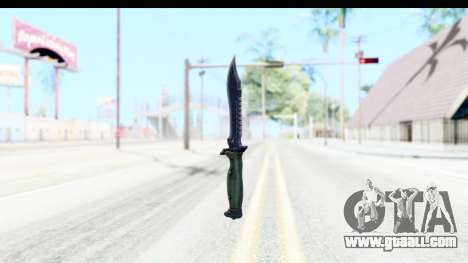 CS:GO - Bowie Knife for GTA San Andreas