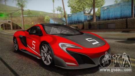 McLaren 675LT 2015 10-Spoke Wheels for GTA San Andreas engine