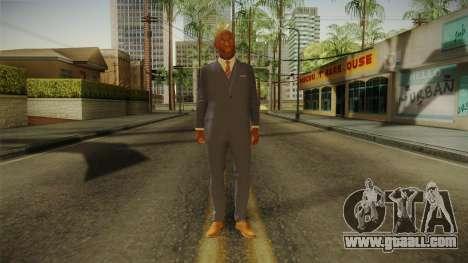 Quantum Break - Martin Hatch (Lance Reddick) for GTA San Andreas second screenshot