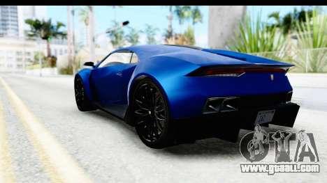 GTA 5 Pegassi Reaper SA Style for GTA San Andreas right view