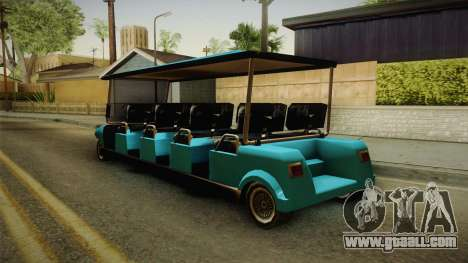 Caddy Limo for GTA San Andreas left view