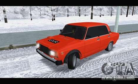 VAZ 2105 patch v3 for GTA San Andreas
