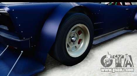 GTA 5 Declasse Tampa Drift for GTA San Andreas back view