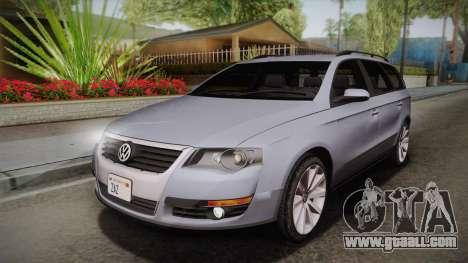 Volkswagen Passat B6 Variant for GTA San Andreas