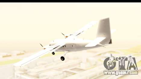 DHC-6-400 All White for GTA San Andreas