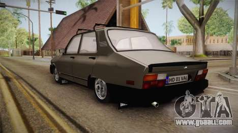 Dacia 1310 TX 1986 for GTA San Andreas back left view