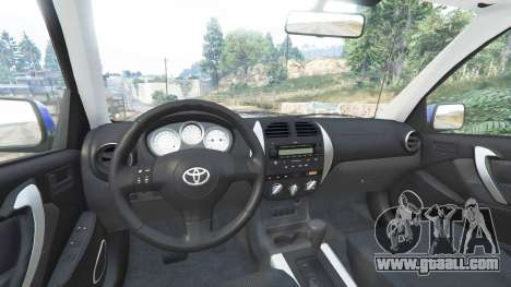 GTA 5 Toyota RAV4 (XA20) [replace] front right side view