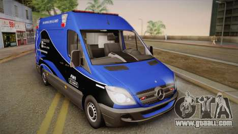 Mercedes-Benz Sprinter 2012 Midwest Ambulance for GTA San Andreas