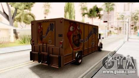 GTA 4 Vapid Benson for GTA San Andreas back left view