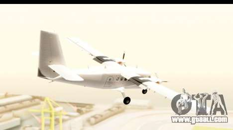 DHC-6-400 All White for GTA San Andreas right view