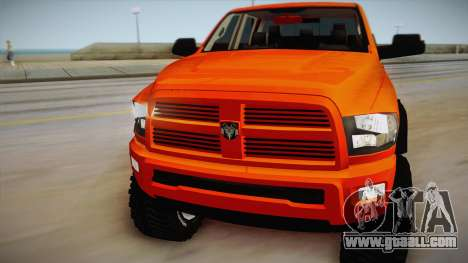 Dodge Ram 2500 Lifted Edition for GTA San Andreas back left view