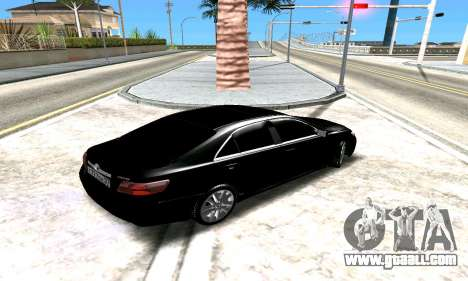Toyota Camry for GTA San Andreas side view