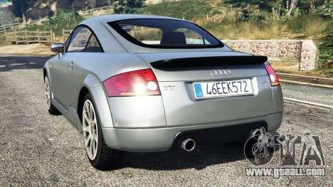 GTA 5 Audi TT (8N) 2004 [replace] rear left side view