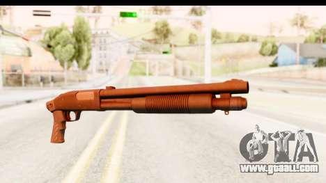 Tactical Mossberg 590A1 Black v1 for GTA San Andreas