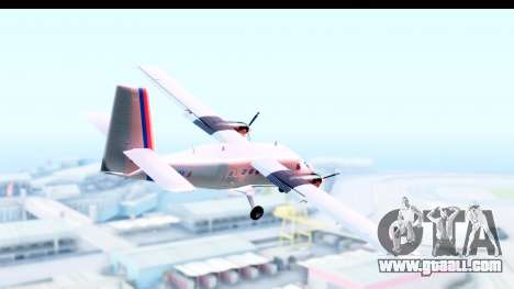 DHC-6-400 Nepal Airlines for GTA San Andreas right view