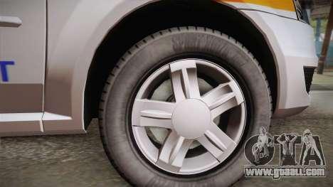 Dacia Logan Facelift Ambulanta v3 for GTA San Andreas