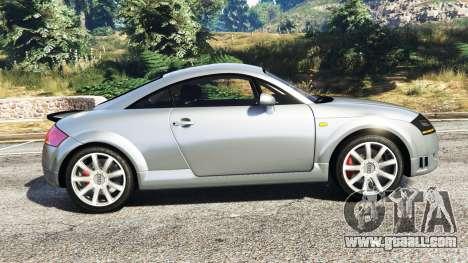 GTA 5 Audi TT (8N) 2004 [replace] left side view