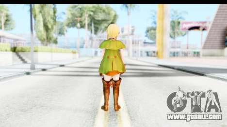 Hyrule Warriors - Linkle for GTA San Andreas third screenshot