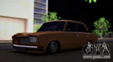 VAZ 2107 Hobo for GTA San Andreas
