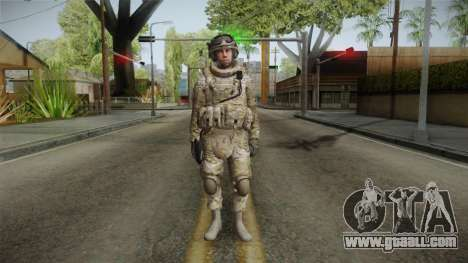 Multicam US Army 5 v2 for GTA San Andreas second screenshot