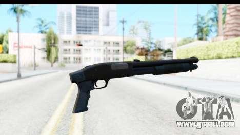 Tactical Mossberg 590A1 Black v3 for GTA San Andreas second screenshot