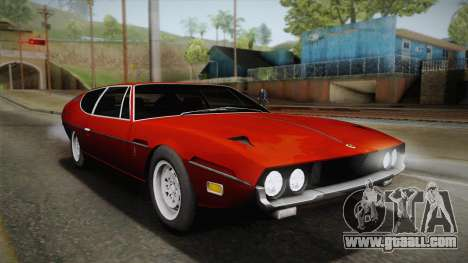 Lamborghini Espada S3 39 1972 for GTA San Andreas