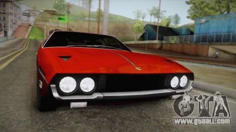 Lamborghini Espada S3 39 1972 for GTA San Andreas right view