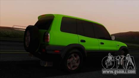 Toyota RAV4 1997 for GTA San Andreas left view