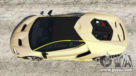 GTA 5 Lamborghini Centenario LP770-4 2017 [replace] back view