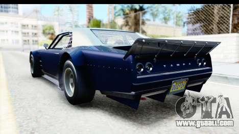 GTA 5 Declasse Tampa Drift for GTA San Andreas right view