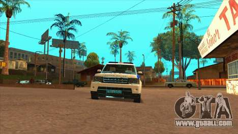 Range Rover Sport ДПС for GTA San Andreas right view