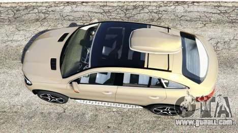 GTA 5 Mercedes-Benz GLE 450 AMG 4MATIC (C292) [add-on] back view