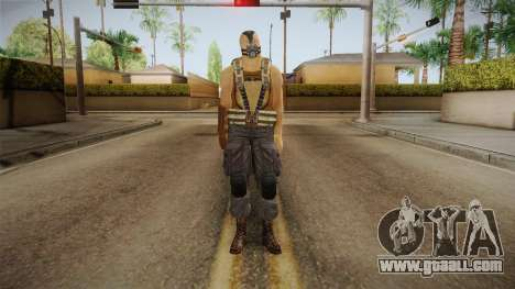 The Dark Knight Rises - Bane for GTA San Andreas second screenshot