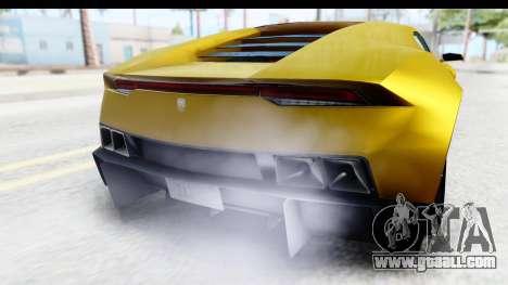 GTA 5 Pegassi Reaper IVF for GTA San Andreas inner view