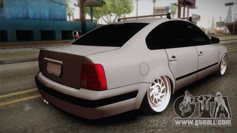 Volkswagen Passat 2.0 TDI for GTA San Andreas left view