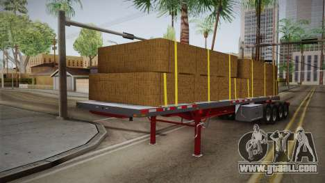 Trailer Americanos v2 for GTA San Andreas
